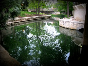 San Antonio River Walk Reflection - II