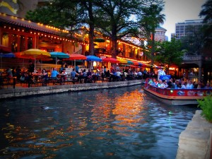 Evening on the San Antonio River
