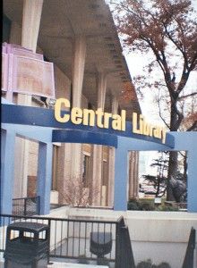 Central Library Sign 2