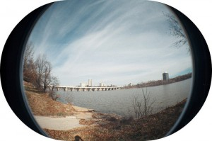 Arkansas River Fisheye