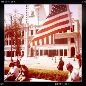 #tulsa #downtown #political #rally #flag