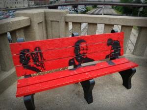 Graffiti Bench