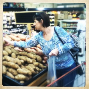 #grocerystorefun - for some reason Heather never has quite as much fun as I do #tulsa