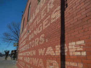 Brady District Ghost Sign