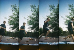 Logan on the Trampoline
