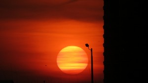 Sunrise at Orange Beach