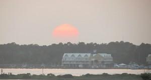 Orange Beach Sunset