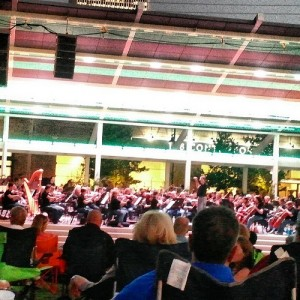 At #guthriegreen listening to #tulsasymphonyorchestra #tulsa #oklahoma