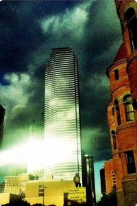 Late afternoon #downtowndallas #reflections #sun #best_skyshots #sky #clouds #sun