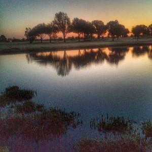 #lafortunepark #pond #reflections #igersok #myoklahoma #best_skyshots #snapseed