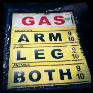 Is the #price of #gasoline high enough for you?