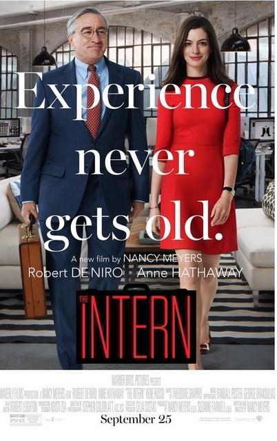Intern movie poster 2