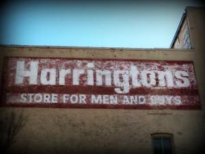 Harrington's Store for Men and Boys
