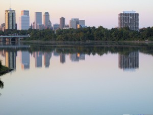 Arkansas River Reflection