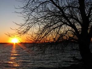 Lake Hefner, January 24, 2010