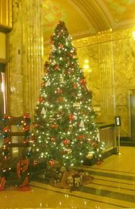 Philcade Building Christmas Tree