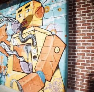 Graffiti in Downtown Tulsa