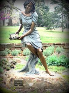 Sculpture in Woodward Park
