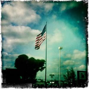 #flag #sky #chickasha #oklahoma
