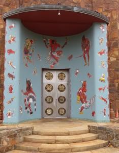 Woolaroc Mural