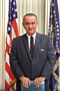 Portrait of President Lyndon B. Johnson Deutsc...