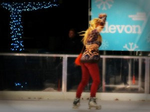 Skater at Myriad Gardens