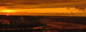 Natural Sepia Sunset