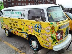 Drug Lawyer Volkswagen Van