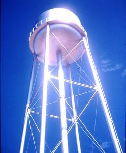 Snowflake Water Tower