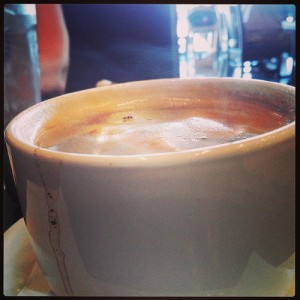 Now this is a hot #steaming cup of #coffee