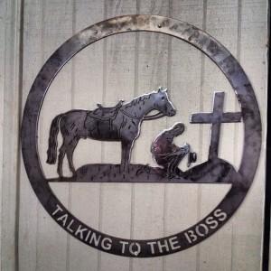 #allstartherapy #therapeutichorsebackriding #horses #igersok #cross #symbols #ramona #oklahoma