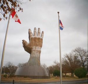 Praying Hands - Oral Roberts University, Tulsa