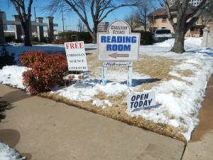 First Christian Church Signs