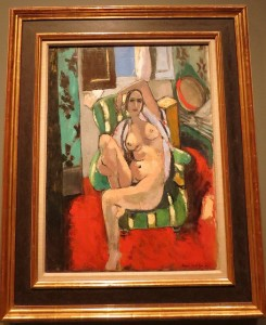 Odalisque with a Tambourine by Henri Matisse