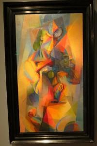 Au Cafe' (Synchrony) by Stanton McDonald-Wright