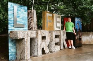Son at Tulsa Zoo