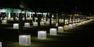 Oklahoma City Memorial at Night
