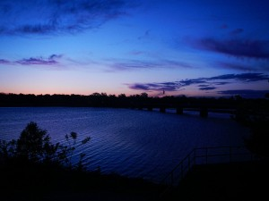 Sunrise Arkansas River - Topaz Edit