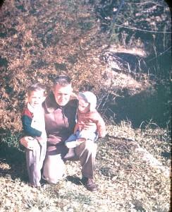Dad, Alan, and Brother Bob