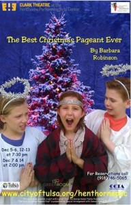 Best Christmas Pageant Ever Poster
